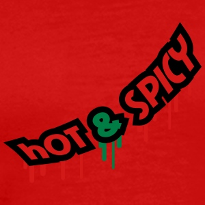 Hot And Spicy Graffiti T-Shirts - Men's Premium T-Shirt