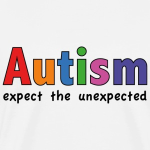 Autism Expect the unexpected - Men's Premium T-Shirt