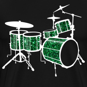 Green Drum Set - Men's Premium T-Shirt