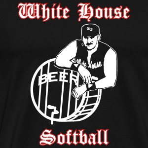 White House Softball 2013 Vector T-Shirts - Men's Premium T-Shirt