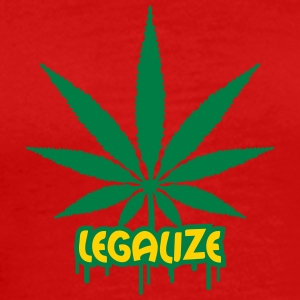 Legalize Weed Graffiti T-Shirts - Men's Premium T-Shirt