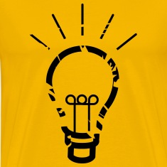 light bulb T-Shirts
