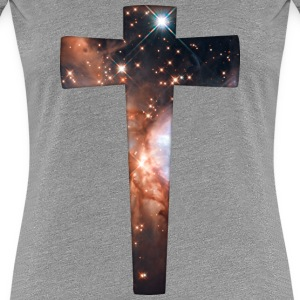 Cosmic Cross Women's T-Shirts - Women's Premium T-Shirt