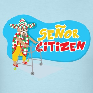 Senor Citizen strikes again T-Shirts - Men's T-Shirt
