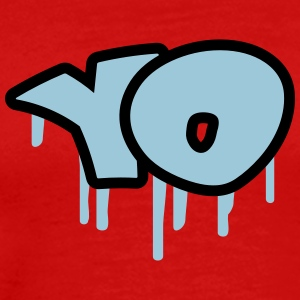 Yo Graffiti T-Shirts - Men's Premium T-Shirt