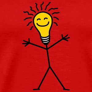 Light Bulb T-Shirts - Men's Premium T-Shirt