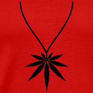 Weed Necklace T-Shirts - Men's Premium T-Shirt
