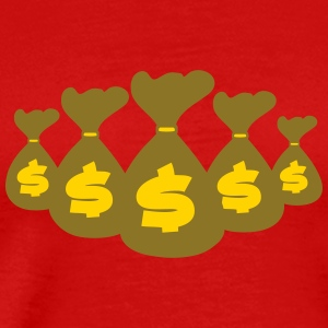 Money Bags T-Shirts - Men's Premium T-Shirt