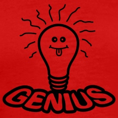 Light Bulb Genius T-Shirts