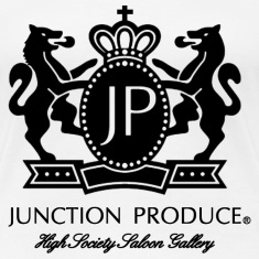 Black Logo Junction Produce VIP CAR SOCIETY Women's T-Shirts