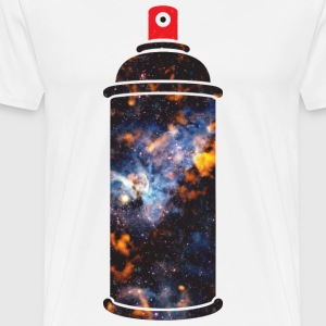 Cosmic Spray Paint T-Shirts - Men's Premium T-Shirt