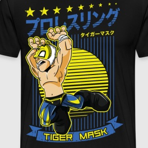 Tiger Mask T-Shirts - Men's Premium T-Shirt