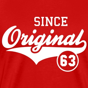 Original SINCE 1963 T-Shirt - 50th birthday - Men's Premium T-Shirt
