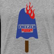 Design ~ Blue Popsicle on Fire
