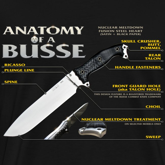 Anatomy of a Busse Mens Tee
