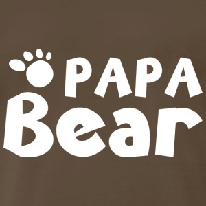 Papa Bear - Men's Premium T-Shirt