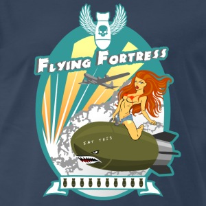 Flying Fortress - Men's Premium T-Shirt