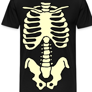 Halloween Skeleton T-Shirt - Men's Premium T-Shirt