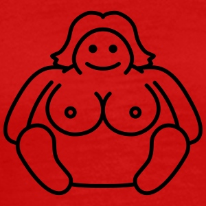 Naked Fat Woman T-Shirts - Men's Premium T-Shirt