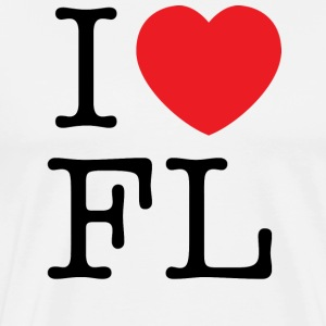 I Love Florida T-shirt - Men's Premium T-Shirt