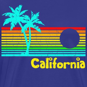 Retro Vintage California - Men's Premium T-Shirt