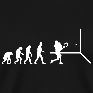 squash evolution T-Shirts - Men's Premium T-Shirt