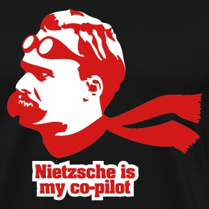 Nietzsche is my Copilot T-Shirts - Men's Premium T-Shirt