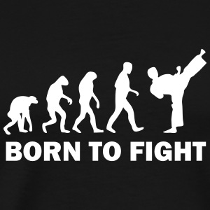 born to fight T-Shirts - Men's Premium T-Shirt