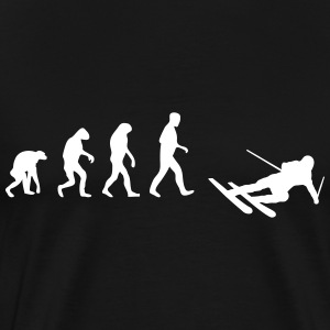 ski evolution T-Shirts - Men's Premium T-Shirt