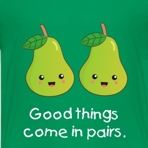 Good things come in pairs Kids' Shirts - Kids' Premium T-Shirt