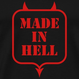 MADE IN HELL T-Shirts - Men's Premium T-Shirt