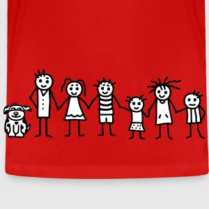 Family / Patchwork Family - V2 Baby & Toddler Shirts - Toddler Premium T-Shirt