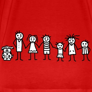 Family / Patchwork Family - V2 T-Shirts - Men's Premium T-Shirt