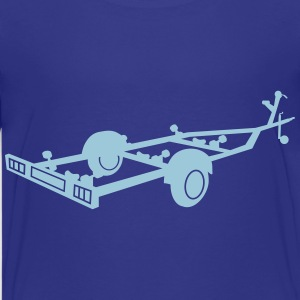 boat transport trailer_r1eps Kids' Shirts - Kids' Premium T-Shirt