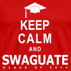 Keep Calm and SWAGuate 2014 T-Shirts - Men's Premium T-Shirt
