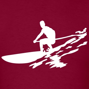 sup boarding T-Shirts - Men's T-Shirt