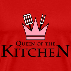Queen Of The Kitchen T-Shirts - Men's Premium T-Shirt