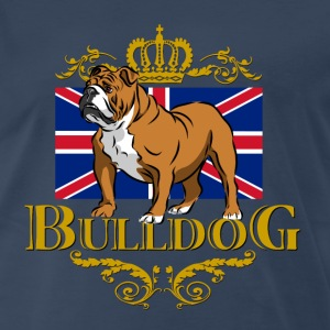 english_bulldog_tshirt T-Shirts - Men's Premium T-Shirt