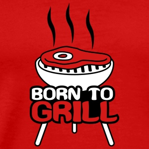 Born To Grill T-Shirts - Men's Premium T-Shirt