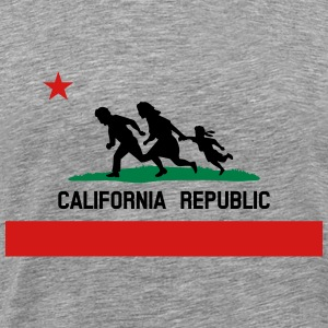 KCCO - Mexico California Republic Color T-Shirts - Men's Premium T-Shirt