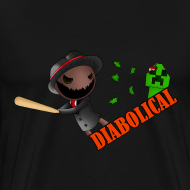 Design ~ The 'Diabolical' Sack (Heavy T-Shirt)