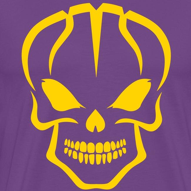 Basket Skull Los Lakers