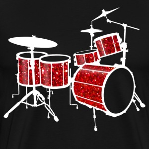 Red Drum Set - Men's Premium T-Shirt