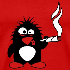 Weed Penguin T-Shirts
