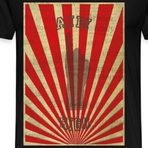 AIM HIGH red T-Shirts - Men's Premium T-Shirt