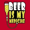 Beer Is My Medicine T-Shirts - Men's Premium T-Shirt