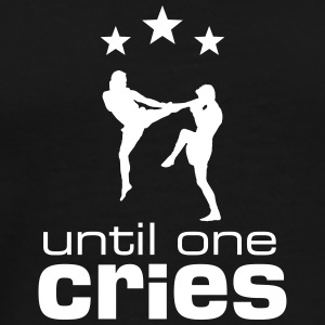 until_one_cries T-Shirts - Men's Premium T-Shirt