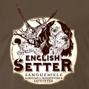 english_setter_hpr T-Shirts - Men's Premium T-Shirt