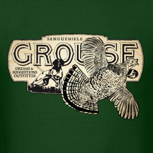 flying_grouse T-Shirts - Men's T-Shirt