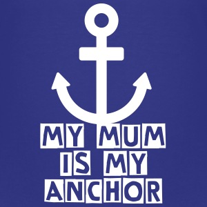 mum mummy mother anchor Kids' Shirts - Kids' Premium T-Shirt